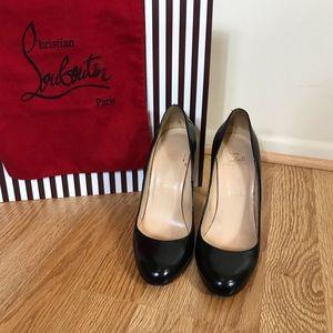 Christian Louboutin Shoes - ❌SOLD❌ Auth Christian Louboutin Black Pumps